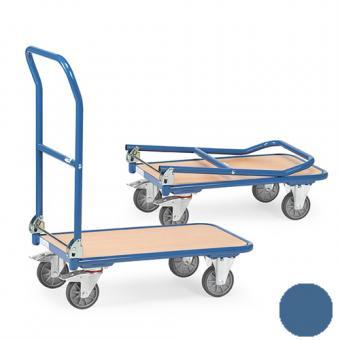 fetra Klappwagen aus Stahlrohr ( brillantblau oder anthrazitgrau )