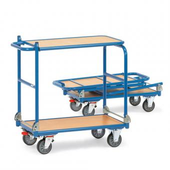 fetra Tisch-Klappwagen aus Stahlrohr