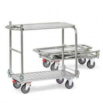 fetra Tisch-Klappwagen aus Aluminium