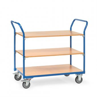 fetra Tischwagen 3 Etagen leicht 200 kg