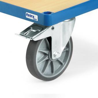 Räder mit elektrisch leitfähiger TPE-Bereifung