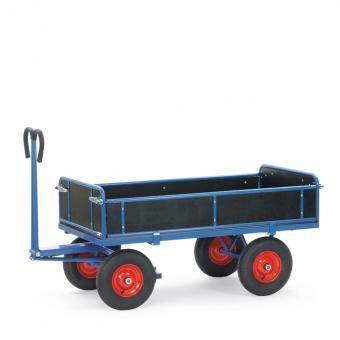 fetra Handpritschenwagen Drehschemellenkung abklappbare Bordwände