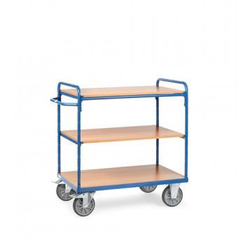 fetra Etagenwagen mit 3 Böden Gesamthöhe bis 1.150 mm