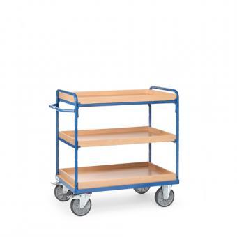 fetra Etagenwagen mit 3 Kästen Gesamthöhe bis 1.150 mm